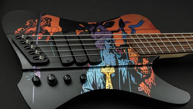 EPICA's ROB VAN DER LOO Announces Dingwall Hellboy Limited Edition Bass