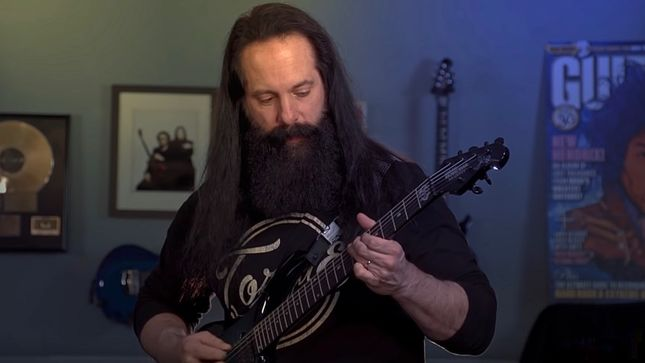 "JOHN PETRUCCI's Favourite Riffs From DREAM THEATER's Distance Over Time Album - Part 3: ""Fall Into The Light""; Video"