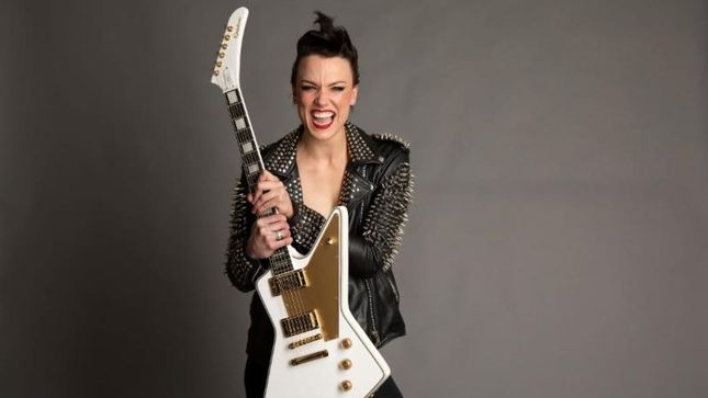 HALESTORM – Limited Edition LZZY HALE Signature Epiphone Explorer Outfit Announced