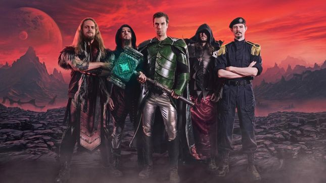 """GLORYHAMMER Release """"Masters Of The Galaxy"""" Lyric Video"""