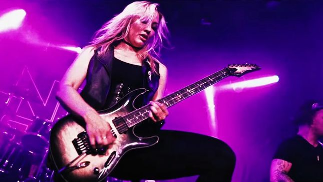 "NITA STRAUSS Premiers Official Live Video For ""Mariana Trench"""