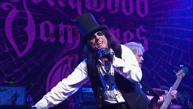 "HOLLYWOOD VAMPIRES Release Official Live Video For New Song ""The Boogieman Surprise"""