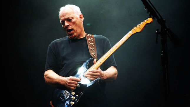 "DAVID GILMOUR Talks About His Iconic Black Strat – ""It's Probably Been On More PINK FLOYD Tracks Than Any Other Guitar"""