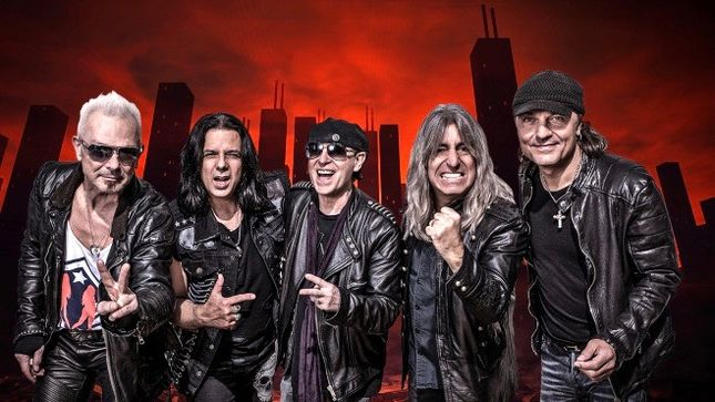 SCORPIONS Guitarist MATTHIAS JABS On First Live Show Of 2019 -