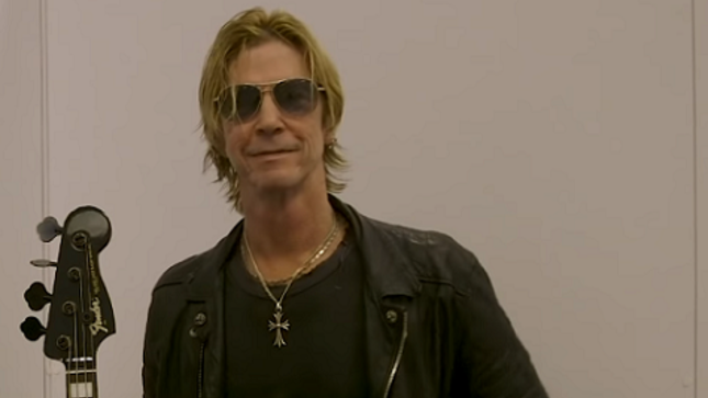 DUFF MCKAGAN Talks About The Lesson He Learned From THE CLASH's Joe Strummer That Still Guides Him Today