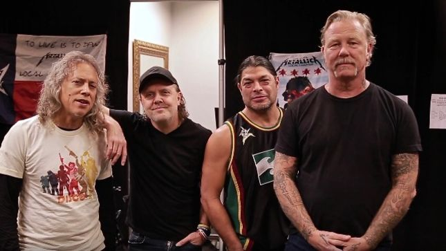 METALLICA Post Thank You Message To Fans For Contributions On Second Annual Day Of Service (Video)