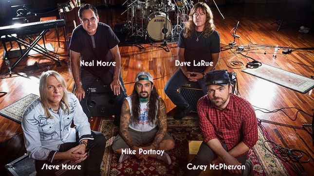 FLYING COLORS Featuring MIKE PORTNOY, NEAL MORSE, STEVE MORSE To Release Third Degree Album In September