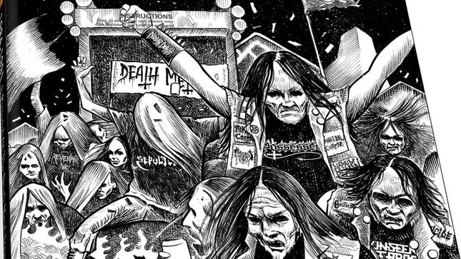 Glorious Times – A Pictorial Of The Death Metal Scene 1984-1991 Reprinted