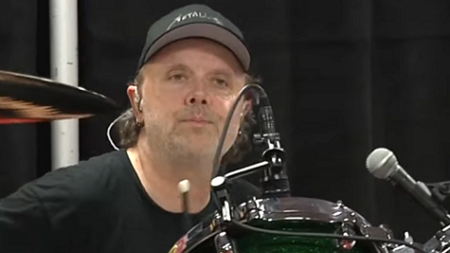 METALLICA - Tuning Room Video From Switzerland