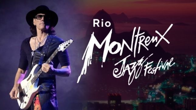 STEVE VAI - Multi-Angle Video Of Entire Montreux Jazz Festival 2019 Show In Rio de Janeiro Posted