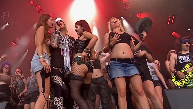 STEEL PANTHER Live At Wacken Open Air 2018; Pro-Shot Video Streaming