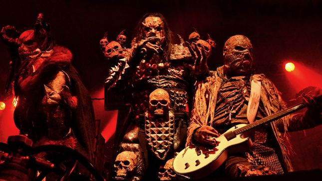 "LORDI Premier Official Live Video For ""The Riff"" From Upcoming Recordead Live - Sextourcism In Z7 Release"