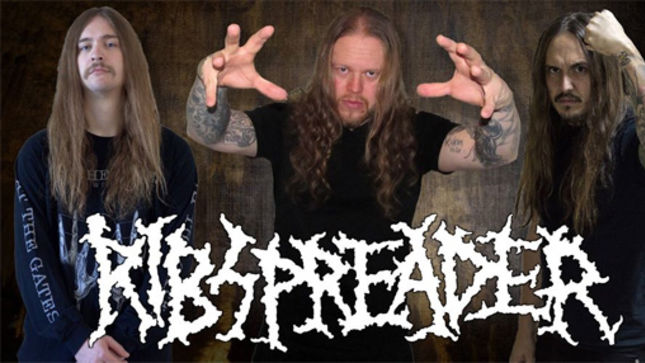 RIBSPREADER Featuring ROGGA JOHANNSON Sign To Horror Pain Gore Death Productions; Crawl And Slither Album Out In July