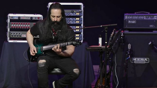 JOHN PETRUCCI Dives Into DREAM THEATER's Distance Over Time Album; Video