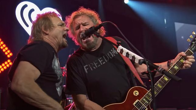 "SAMMY HAGAR & THE CIRCLE Perform ""I Can't Drive 55"" At iHeartRadio Icons; Video"