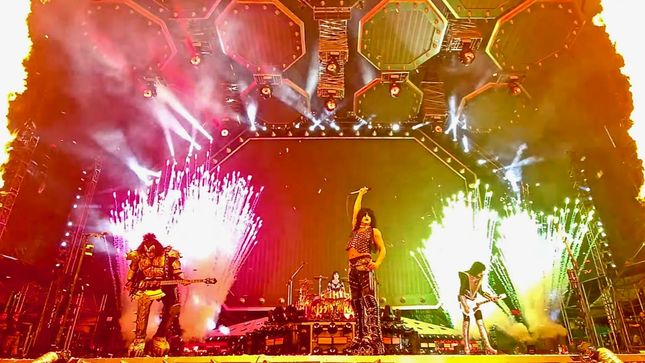 KISS Release HQ Video Of Last Night's Moscow Finale