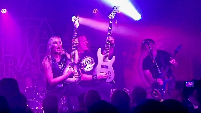 "MEGADETH Bassist DAVID ELLEFSON Joins NITA STRAUSS In Nashville For IRON MAIDEN Classic ""Aces High""; Video"