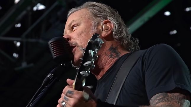 "METALLICA - ""Thank You, Brussels!""; Video"