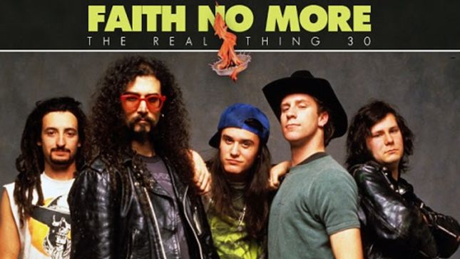FAITH NO MORE Reflect On 30th Anniversary Of The Real Thing -