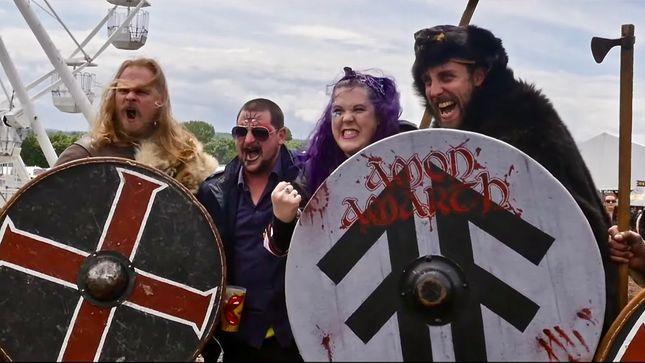 AMON AMARTH - Berserkers At Download Festival; Recap Video Streaming