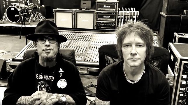 "DAVE NAVARRO And BILLY MORRISON Rejoin Forces For Second Annual ""Above Ground"" Benefit Concert; Video Trailer"