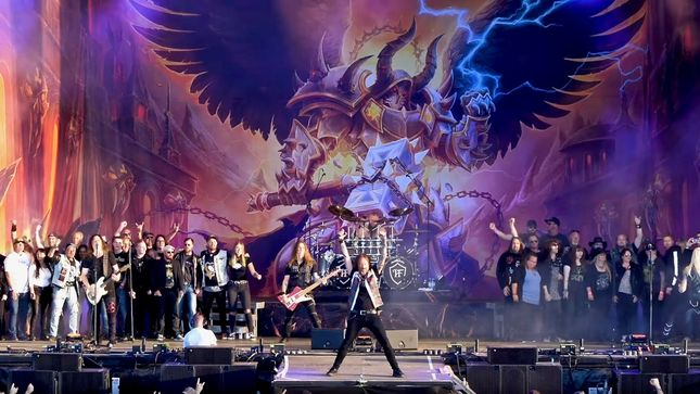 HAMMERFALL Launch Official Live Video For