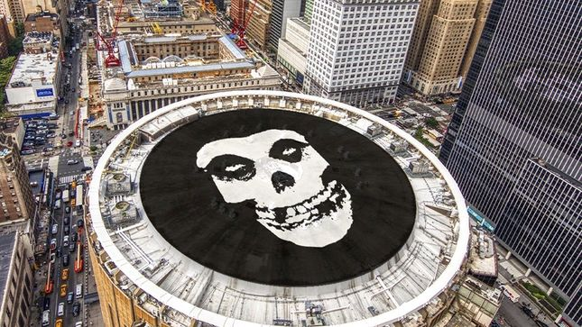 MISFITS To Play NYC's Madison Square Garden In October With Special Guests RANCID And THE DAMNED
