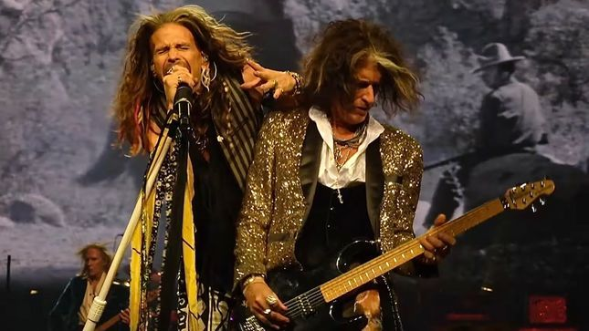 "AEROSMITH Guitarist JOE PERRY On Band's Upcoming 50th Anniversary - ""Any Gigs We Do Next Year Will Be Celebrated As 50 Years; By No Means Will It Be A Farewell Tour"""
