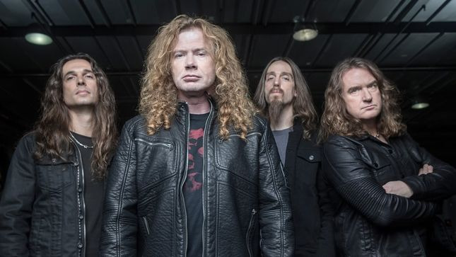 "MEGADETH New Album Update - ""We're Very Engaged In Working On The Record Right Now,"" Says DAVID ELLEFSON; Video"