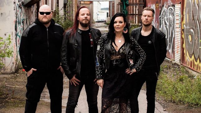 THE DARK ELEMENT Featuring Former NIGHTWISH Vocalist, Ex-SONATA ARCTICA Guitarist To Release Songs The Night Sings Album In November; Artwork, Tracklisting Revealed