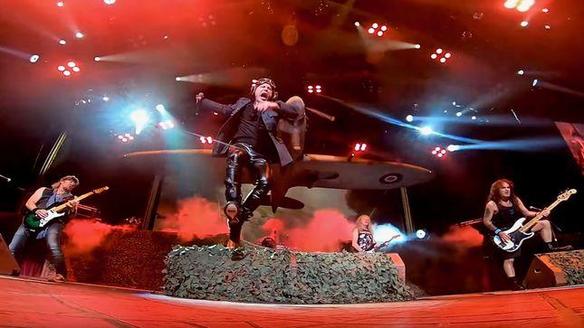 IRON MAIDEN Release Official Video Recap Of Last Nights