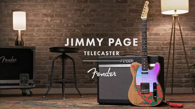 Fender's Artist Signature Series: The JIMMY PAGE Telecaster - Demo Video Streaming