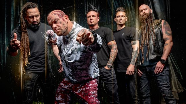 "FIVE FINGER DEATH PUNCH Offer Preview Of New Track ""Inside Out""; Video"