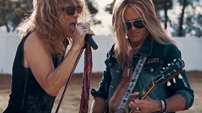 BURNING RAIN Guitarist DOUG ALDRICH, Vocalist KEITH ST. JOHN Featured On New Episode Of The Right To Rock Podcast (Audio)