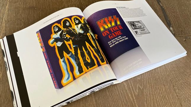 KISS - The Hottest Brand In The Land Book Unboxed; Video
