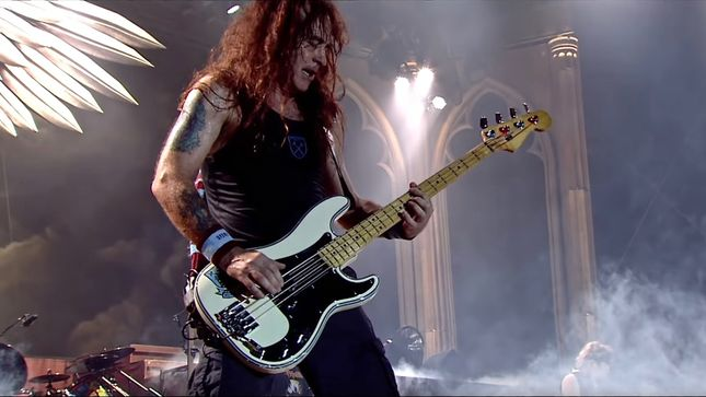 "IRON MAIDEN Bassist STEVE HARRIS On His Stage Fright - ""I Don't Really Get It Much These Days... If I Do Get It, It Would Probably Be With BRITISH LION"""