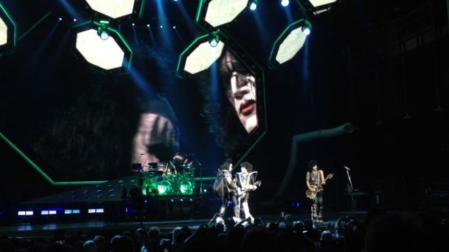 KISS - Fan-Filmed Video From Charlotte, NC Show Posted