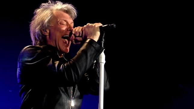 "BON JOVI Performs ""We Weren't Born To Follow"" In Sønderborg, Denmark; Pro-Shot Video Streaming"