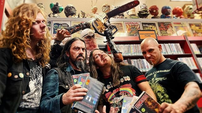 "EXHUMED To Release Horror Album In October; ""Ravenous Cadavers"" Track Streaming"