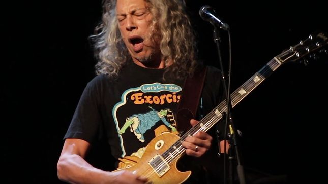 KIRK HAMMETT And THE WEDDING BAND Live At Toronto's Cosmo Music; Pro-Shot Highlights Video Streaming