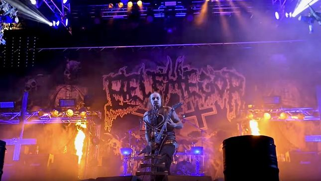 "BELPHEGOR Performs Unreleased Song ""Sanctus Diaboli Confidimus"" At Party.San Open Air; Official Clip Streaming"