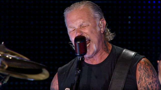 "METALLICA Release Pro-Shot Live Video For ""Ride The Lightning"" From Bucharest, Romania"