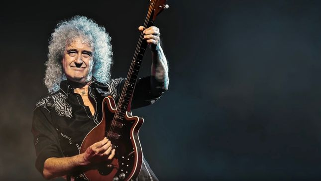 Queen's Brian May recovers after heart attack