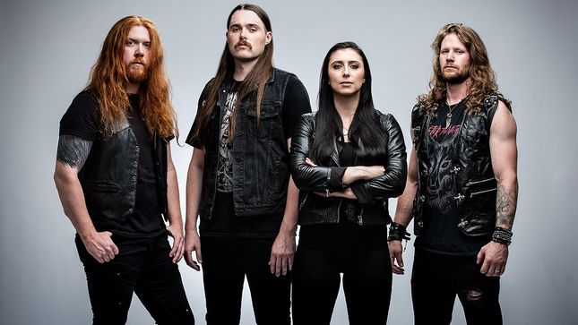 "UNLEASH THE ARCHERS Debut Official Lyric Video For Cover Of TEAZE Song ""Heartless World"""
