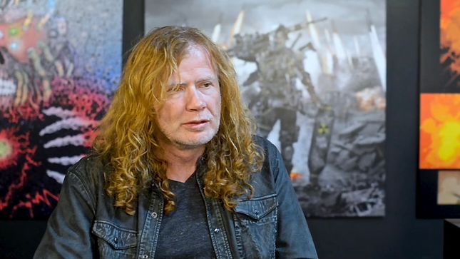"MEGADETH's Death By Design Graphic Novel Available Now; New ""Making Of"" Video Released"