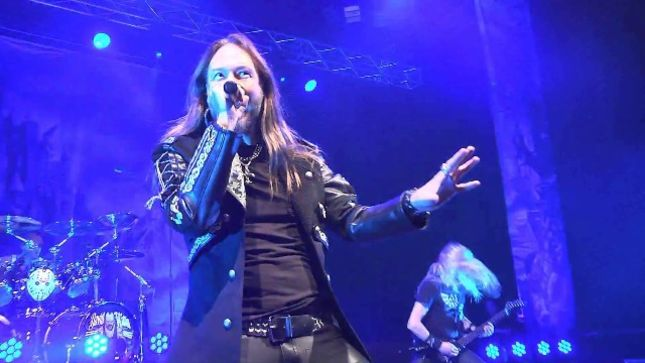 BraveWords Preview: HAMMERFALL Frontman JOACIM CANS Looks Back On 2017 Co-Headlining Tour With DELAIN -