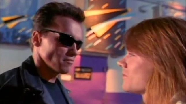 GUNS N' ROSES Rumoured To Be Working On Music For Terminator: Dark Fate Soundtrack