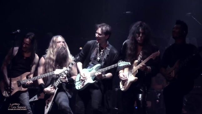 "STEVE VAI Talks Covering QUEEN On GENERATION AXE Tour - ""'Bohemian Rhapsody' Is A Beast To Get Peformed On Five Guitars"" (Video)"
