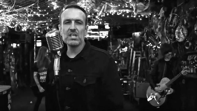 "DEF CON SOUND SYSTEM Featuring Former MONSTER VOODOO MACHINE Frontman ADAM SEWELL Premier ""My Love Is The Dagger"" Music Video"