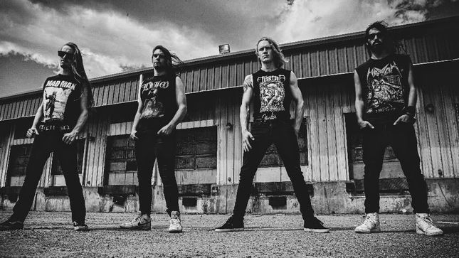 "HAZZERD Debut Tuning Room Video For ""Waking Nightmare"""